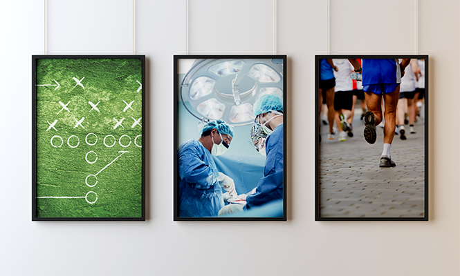 Hustle, Work, Think, Play: Sports & Neurosurgery